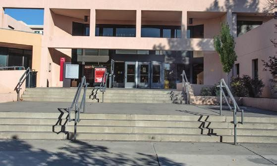 Campus Map Unm Online Visitors Guide